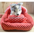 Comfortable Princess Canopy Pet Bed